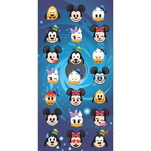 Osuška 70x140 - Disney emoji