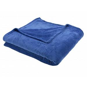 Mikroflanelová deka Premium 150x200 - Královská modrá