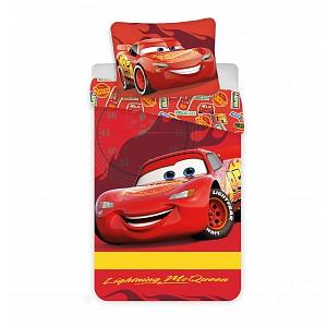 Bavlněné povlečení do postýlky 40x60+100x135 Cars baby McQueen