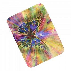 3D Podlahová předložka 50x70 Abstraktní motýle
