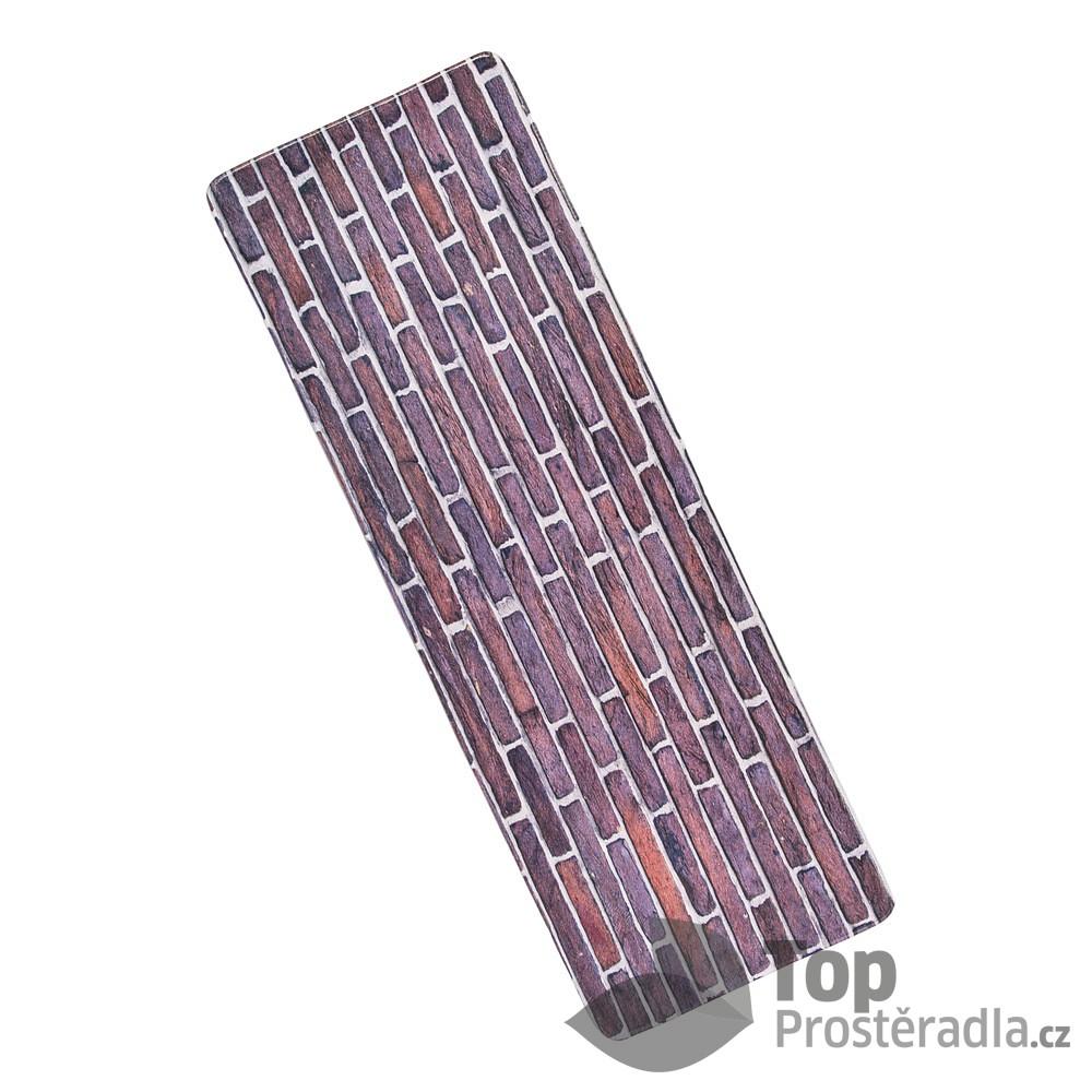Levně TOP 3D Podlahová předložka 60x180 Zeď