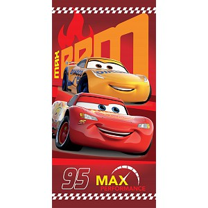 Osuška 70x140 - Cars Red 95