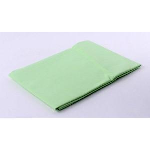 Prostěradlo bavlněná plachta 140x225 - Zelená