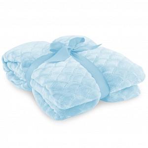 Velká mikroflanelová deka Sardi Premium 220x240 - Baby blue