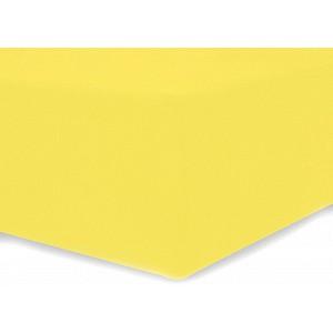 Microtop prostěradlo AMELIA ROYAL 90x200 - Žluté