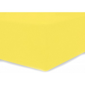 Microtop prostěradlo AMELIA ROYAL 200x220 - Žluté