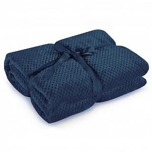 Velká mikroflanelová deka ŽAKÁR Premium 220x240 - Indigo