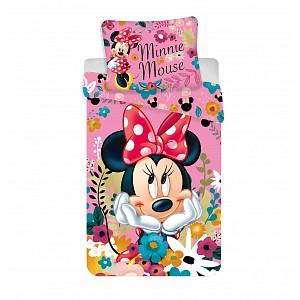Povlečení z mikrovlákna 140x200+70x90 Minnie Blossoms
