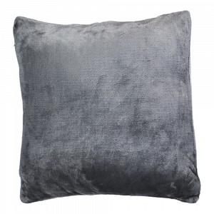 Povlak na polštářek mikroflanel 40x40 Tmavě šedý