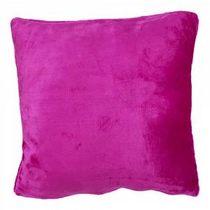 Povlak na polštářek mikroflanel 40x40 Růžová