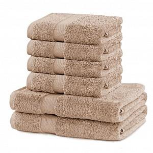 Set luxusních froté ručníků a osušek MARINA 4+2 Béžový