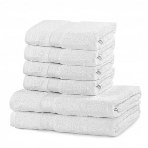 Set luxusních froté ručníků a osušek MARINA 4+2 Bílý