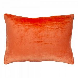 Povlak na polštářek mikroflanel 40x60 Oranžová