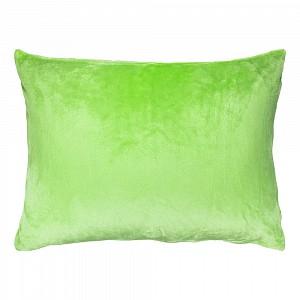 Povlak na polštářek mikroflanel 40x60 Světle zelená