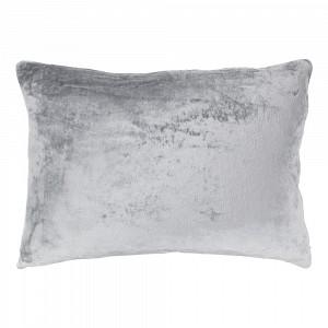 Povlak na polštářek mikroflanel 40x60 Světle šedá