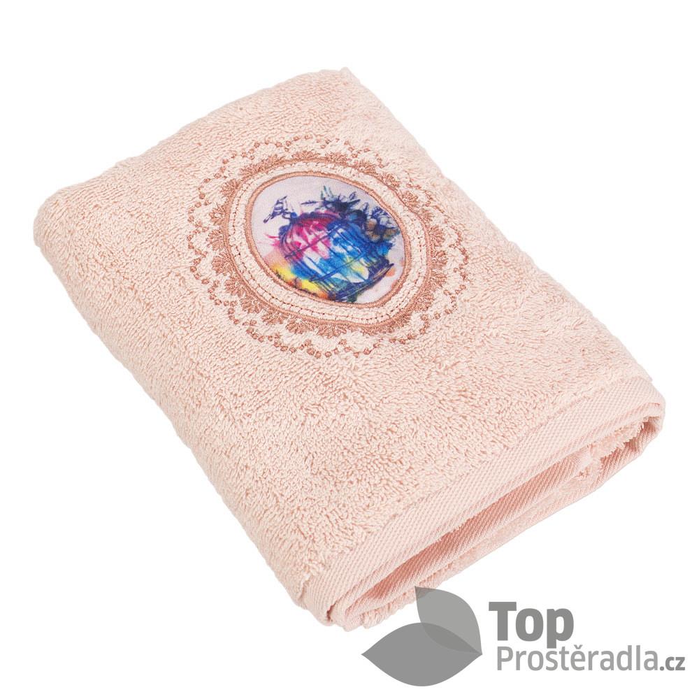 TP Froté ručník LIMITED - Ptačí klícka meruňková