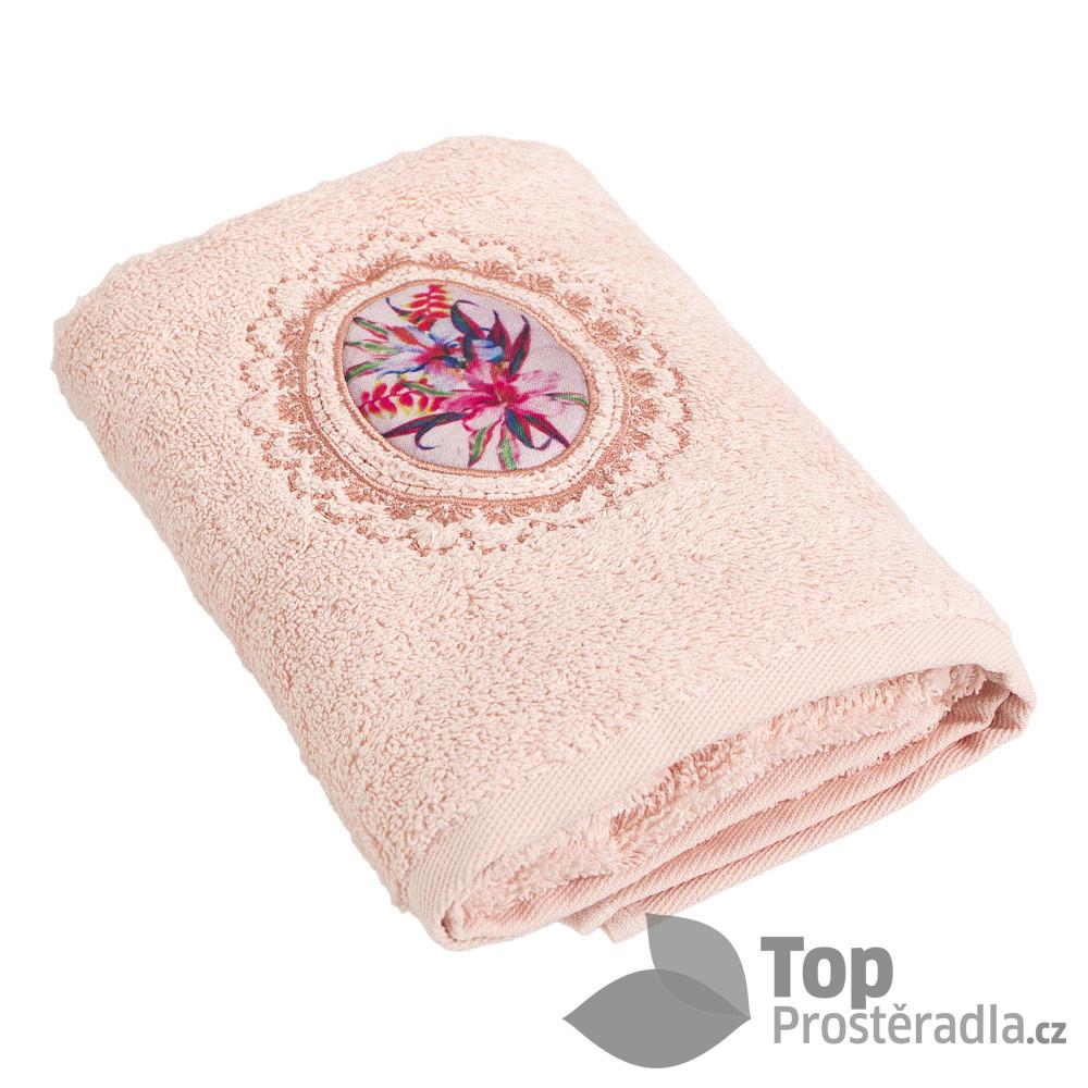 TP Froté ručník LIMITED - Kytice meruňková