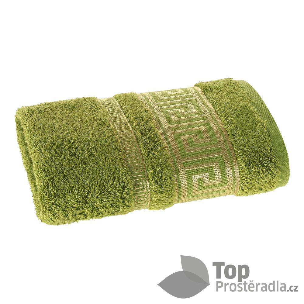 Levně TOP Luxusní bambusový ručník ROME COLLECTION - Zelená