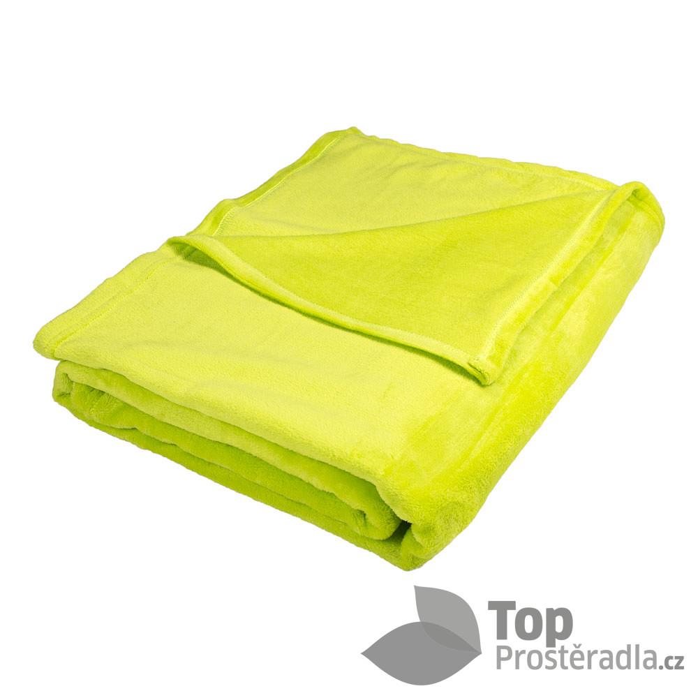 TOP Deka mikrovlákno 150x200 - Světle zelená